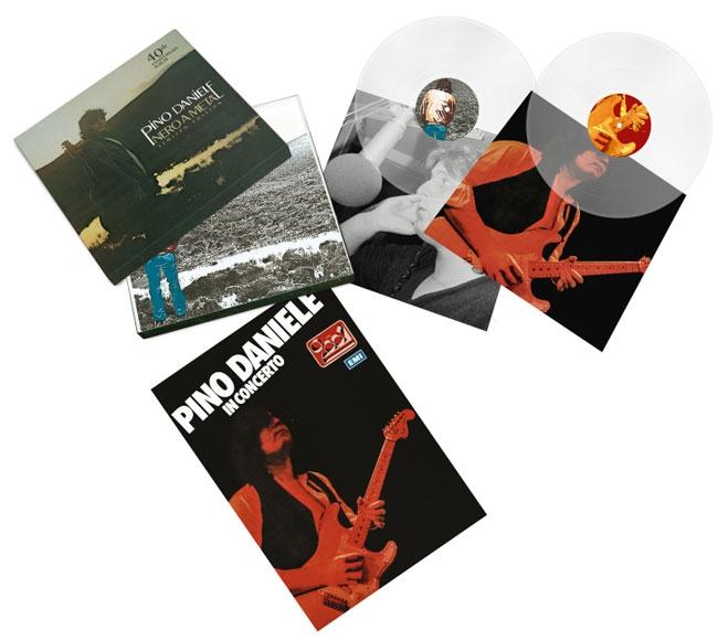 foto pino daniele  nero a metà 40th anniversary album