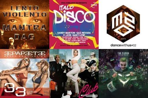 foto mantra dag top album dance italia 02 settembre 2020