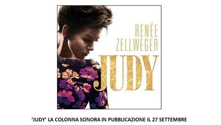 foto judy la colonna sonora in pubblicazione il 27 settembre