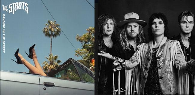 foto the struts in radio la loro versione di dancing in the street