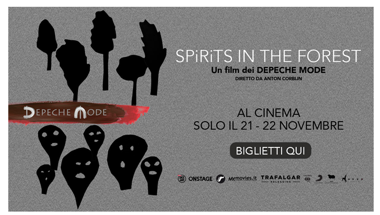 foto depeche mode: spirits in the forest il 21 e 22 novembre al cinema