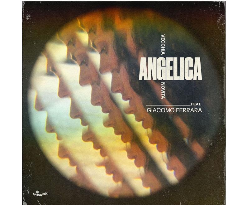foto angelica nelle radio con vecchia novita  feat. giacomo ferrara