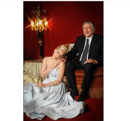 foto tony bennett e lady gaga fuori il secondo singolo love for sale